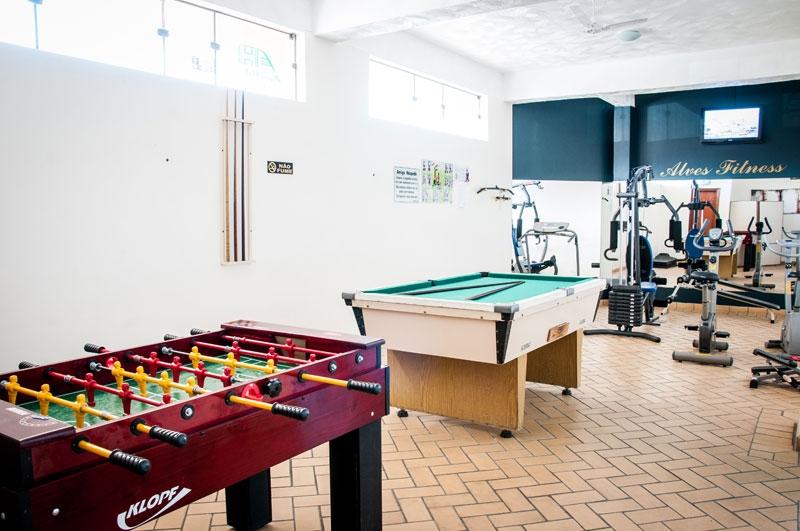 Salão de Jogos e Academia